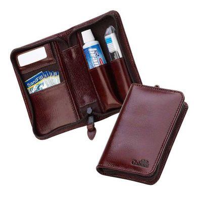 Galvani - Kit bucal contendo espelho, escova, creme dental e 5 saches de fio dental.