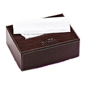 Galvani - Porta Lenço personalizado, todo pespontado, tamanho aproximado 16 x 6 x 12.