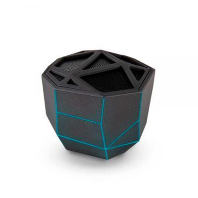 Brand Brindes Produtos Personalizados - Caixa de som com conexão bluetooth e carregamento via USB. Ela tem potência de 5 Watts, funcionamento por até 4 horas e à uma distância de até 10 metr...