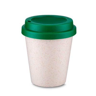Brand Brindes Produtos Personalizados - Copo plástico e fibra de arroz  350ml com tampa  Plástico Utilizado: PP (Polipropileno) com fibra de arroz Dimensão: 11×9øcm Peso produto: 0,060kg