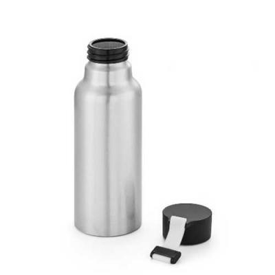 Brand Brindes Produtos Personalizados - Squeeze de Alumínio. Com fita em silicone. Capacidade: 570 ml. Food grade :Ø66 x 205 mm