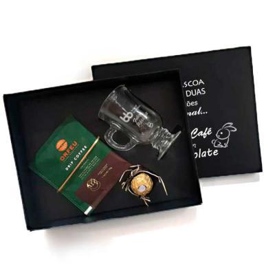 Brand Brindes Produtos Personalizados - Kit Café Orfeu, Chocolate e Caneca
