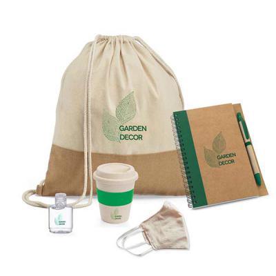 Brand Brindes Produtos Personalizados - Kit Boas Vindas Eco