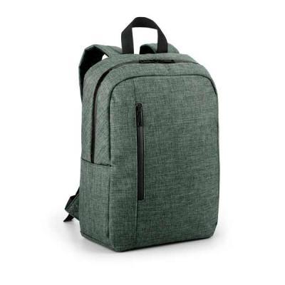 """Brand Brindes Produtos Personalizados - Mochila para notebook. 600D de alta densidade. Compartimento forrado, com 2 divisórias almofadadas para notebook até 14"""" e tablet 9.7"""". Bolso frontal..."""