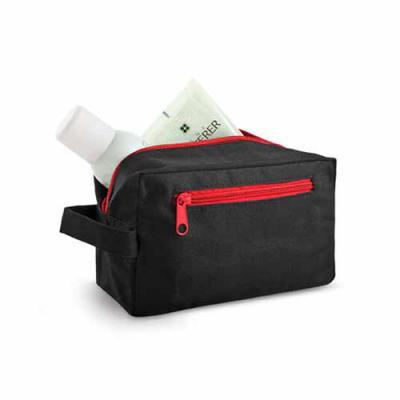 Brand Brindes Produtos Personalizados - Nécessaire Com pega e bolso frontal.  Medidas: 200 x 115 x 85 mm