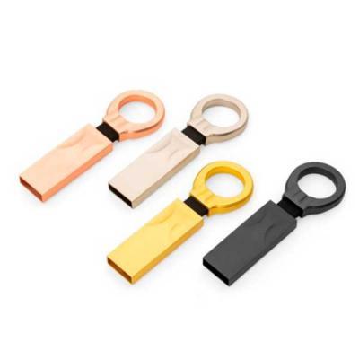 Brand Brindes Produtos Personalizados - Pen drive de alumínio color, disponível com memória de 4GB, 8GB e 16GB  . Possui argola para chaveiro e pintura fosca. Medidas: Altura 5,9 cm x Largur...