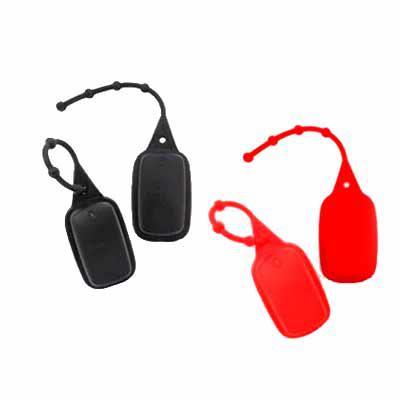Brand Brindes Produtos Personalizados - Chaveiro Porta Álcool em Gel, Previna-se Contra a COVID-19  Modelo com Pino Regulável, extra macia. Vem com potinho com bico para injetar o produto ne...