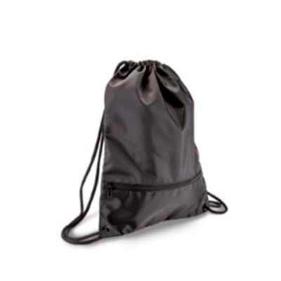 Brand Brindes Produtos Personalizados - Mochila tipo sacola com capacidade de 13,5 litros e bolso frontal com zíper. Informações Adicionais: Material Principal: Poliéster 300D Capacidade: 13...