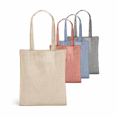 Brand Brindes Produtos Personalizados - Sacola em algodão Reciclado 150 g/m². Alças de 65 cm. Medidas: 375 x 415 mm