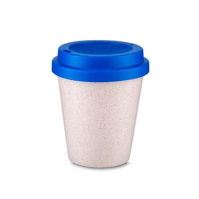 Crie Brindes Criativos - Copo fibra de arroz 350ml com tampa plástica de bocal.  Altura :  11 cm Largura :  9,3 cm Circunferência :  26,1 cm Tamanho total aproximado  (CxL):...