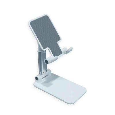 Harmoniza Brindes - Suporte retrátil para celulares e tablets. Produzido em plástico com haste de alumínio, o suporte possui ângulo ajustável e extensão de altura. Seu ta...