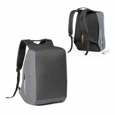 Harmoniza Brindes - Mochila para notebook. 900D de alta densidade e tarpaulin. Sistema anti-roubo: compartimento principal com zíper oculto e parte posterior com 2 bolsos...