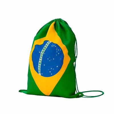 Atlas Brindes - Mochila Saco Copa Do Mundo Mochila saco com bandeira do Brasil para a Copa do Mundo. Um acessório muito utilizado por esportistas em geral, é uma ótim...