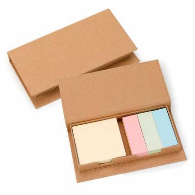 Envolve Promocional - Bloco de anotações com autocolantes coloridos.
