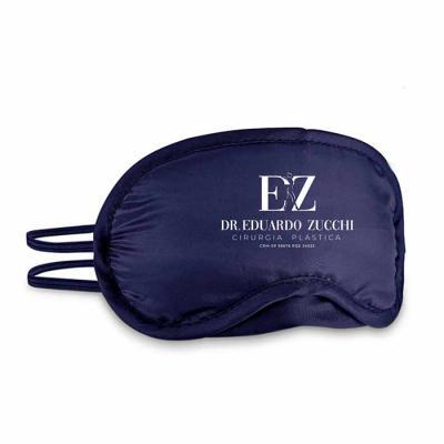 Envolve Promocional - Máscara para dormir promocional personalizada com interior almofadado.  Para o seu cliente descansar com conforto e promovendo sua marca!