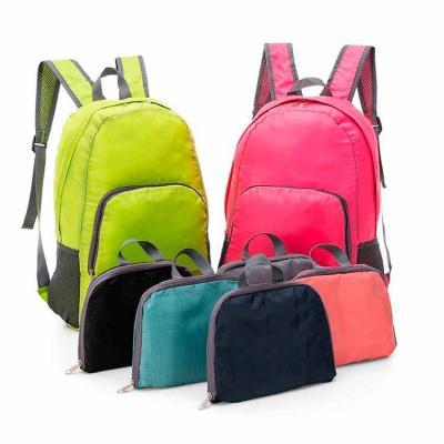 Envolve Promocional - Mochila dobrável, nas mais diversas cores.