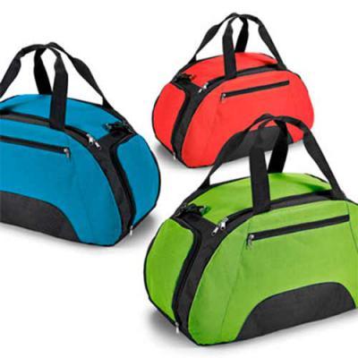 Envolve Promocional - Bolsa de viagem personalizada MATERIAL: Nylon 600 Dimensões: 52,0 x 30,0 x 25,5 cm CORES: Preto, verde Claro, Azul e Vermelho TIPO DE GRAVAÇÃO: Transf...