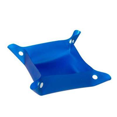 Envolve Promocional - Tigela para pets, na cor azul.