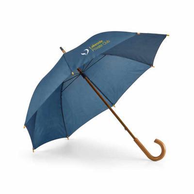 Envolve Promocional - Guarda-chuva na cor azul.
