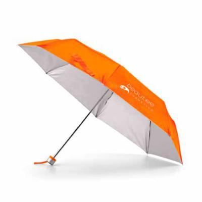Envolve Promocional - Guarda chuva feminino para brindes personalizado Material: poliéster 190t Dimensões: ø960 mm Cor: preto, azul, amarelo, vermelho, branco, laranja e ve...