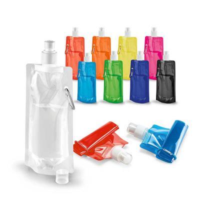 Envolve Promocional - Squeeze dobrável com diversas cores.
