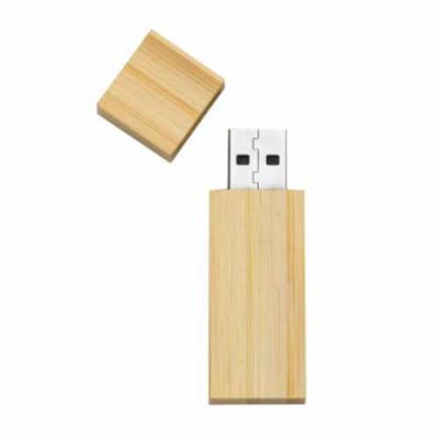 LV Brindes - Pen Drive Bambu