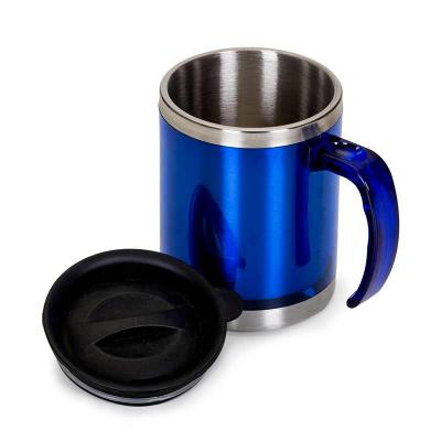Primme Promocionais - Caneca acrílica 400ml - azul