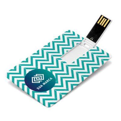 Primme Promocionais - Pen Drive Cartão Personalizado