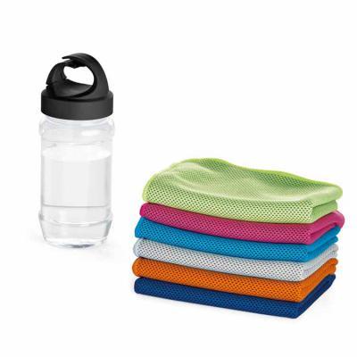 Primme Promocionais - Kit toalha e garrafa