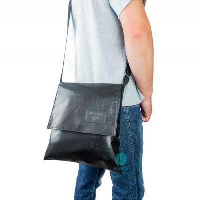 kelly-pinheiro - Bolsa lateral Collins sintético com aba externo