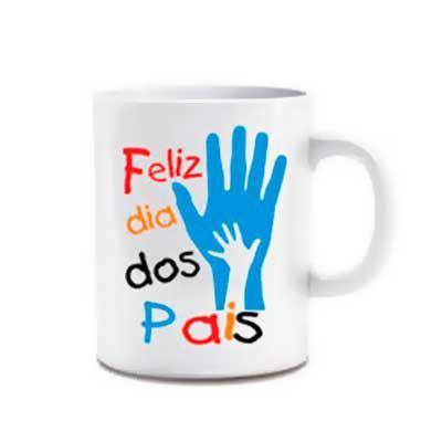 Kelly Pinheiro Brindes - Caneca Cerâmica 300ml - Dia dos pais