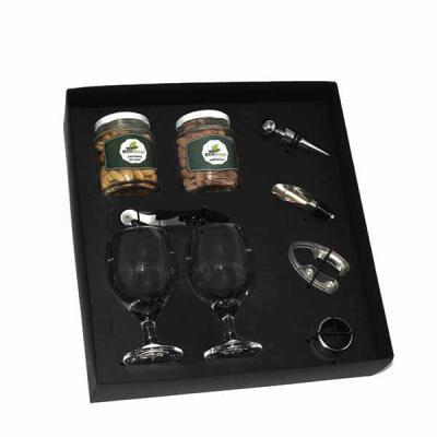 Brindes Criativos - Kit Acessórios de vinho