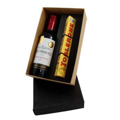 Conceito Kits Corporativos - Kit Vinho Chileno