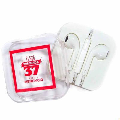 Brindi Produtos Corporativos - Fone de ouvido personalizado