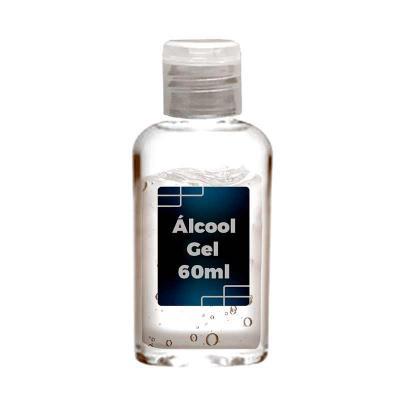 Brindi Produtos Corporativos - Frasco Personalizado de Álcool Gel