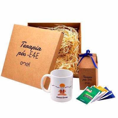 Brindi Produtos Corporativos - Kit Chá Personalizado