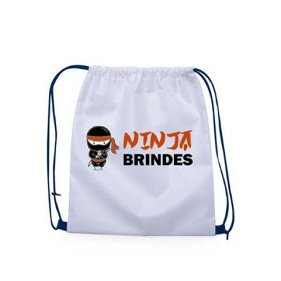 Ninja Brindes - Mochila Saco personalizada