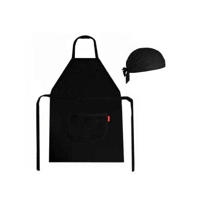 ninja-brindes - kit avental e touca personalizados