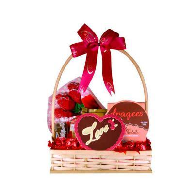 Ninja Brindes - kit chocolate dia dos namorados