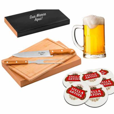Ninja Brindes - O Kit home bar nada mais é do que um espaço interno familiar, com o tema boas-vindas e bebidas.
