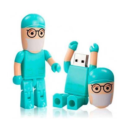 Ninja Brindes - Pen drive 4gb personalizado médico