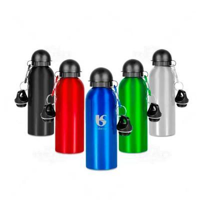 Ninja Brindes - Squeeze metálico personalizado