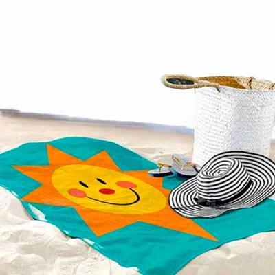 Ninja Brindes - Essa é uma Toalha de praia personalizada, com o melhor custo benefício que você vai comprar na 'internet'.