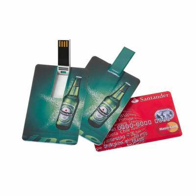 Donna Brindes e Presentes Personalizados - Pen drive cartão Personalizado