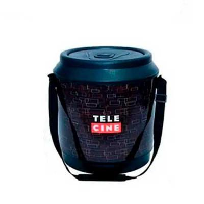 Silk Brindes - Cooler para latas - preto