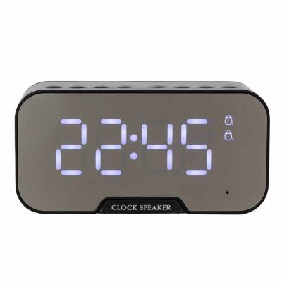 Merx Personalizados - Caixa de Som Multimídia com Relógio e Suporte para Celular