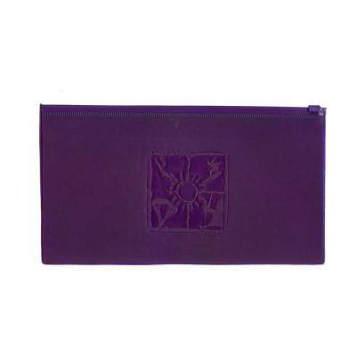 Recon - Envelope em pvc cristal colorido com zip zap.