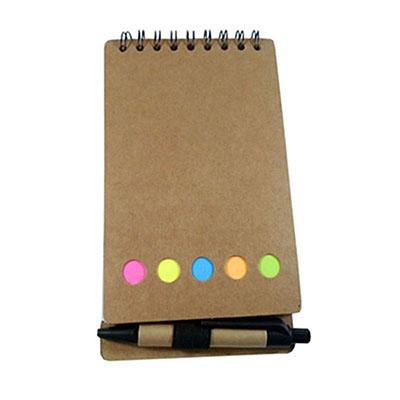 Hukyplast - Bloco de anotações com sticky notes