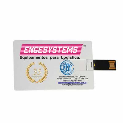 Hukyplast - Pen card personalizado de 4 e 8 GB, todos testados um a um. Gravação Digital em 4 cores. Produto diferenciado.