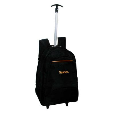 Roar Material Promocional - Mochila com carrinho de tamanho médio. Para seu dia a dia, leve seus pertences com mais comodidade.